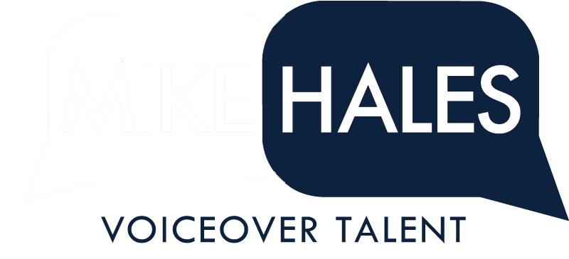 Mike Hales Voice Over Talent banner logo